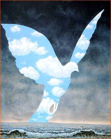 La Grande famille de René Magritte.