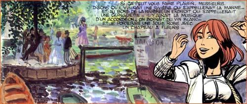 La Grenouillière selon Jean-Claude Mézières.