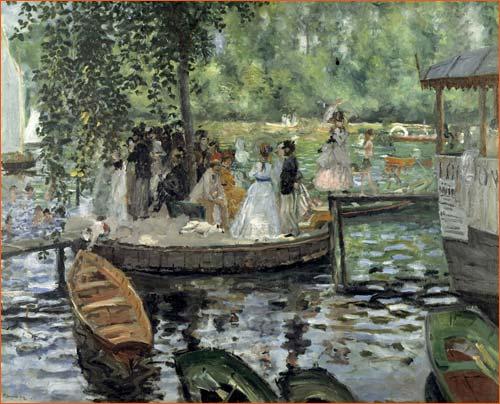La Grenouillière d'Auguste Renoir.