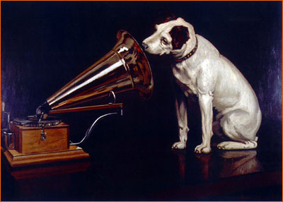 His Master's Voice de Francis Barraud.