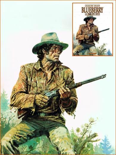 Hondo et les Apaches selon Jean Giraud.