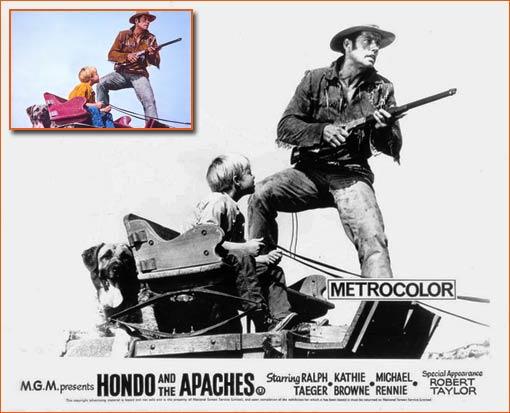 Hondo et les Apaches de Lee H. Katzin.