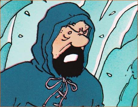 Horizons perdus selon Hergé.