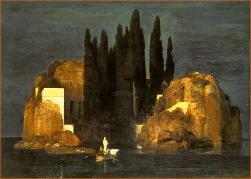 L'île des morts d'Arnold Böcklin.