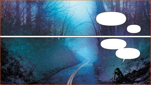 Into the Mist selon Mikel Janin.