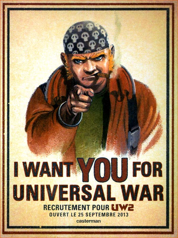 I want you for U.S. Army selon Denis Bajram.