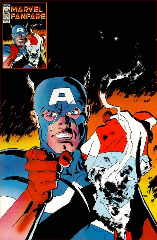 I want you for US Army selon Frank Miller.