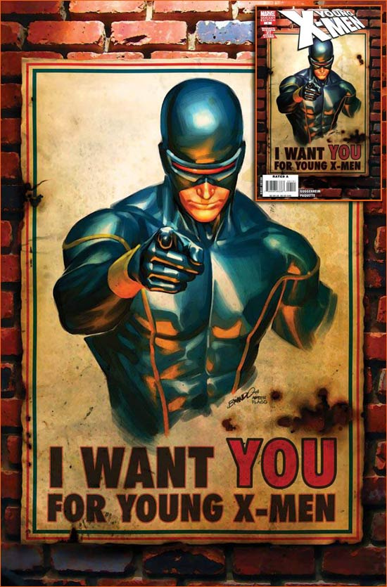I want you for U.S. Army selon Marc Silvestri.