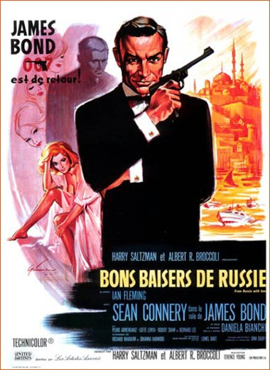 James Bond #2 - Bons baisers de Russie de Terence Young.