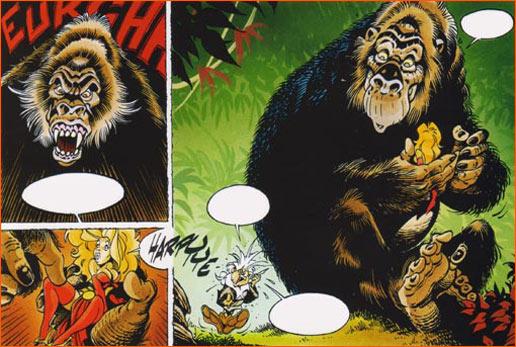 King Kong selon Didier Crisse.