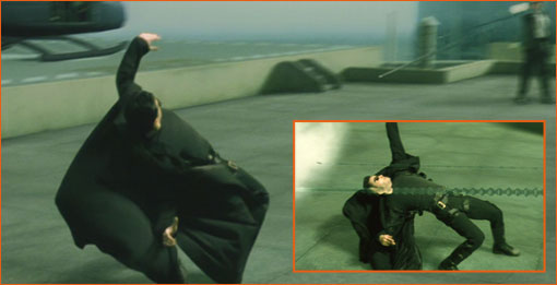 Matrix des frères Wachowski.