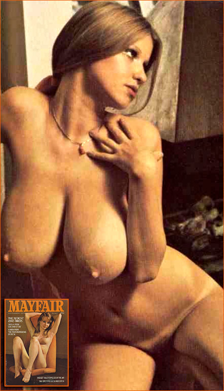 Photographie de Roberta Pedon pour le magazine Mayfair (1974).