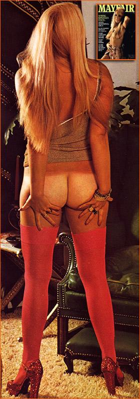 Photographie d'Eva Von Bork par Ed Alexander pour Mayfair (1975).