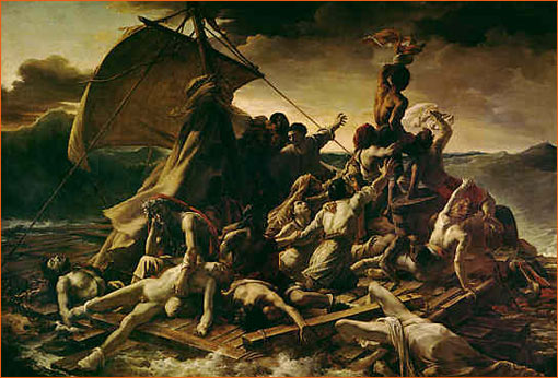 Le radeau de la Méduse de Théodore Géricault.