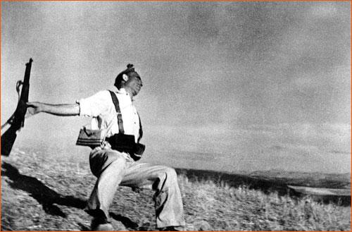 Mort d'un soldat républicain de Robert Capa.