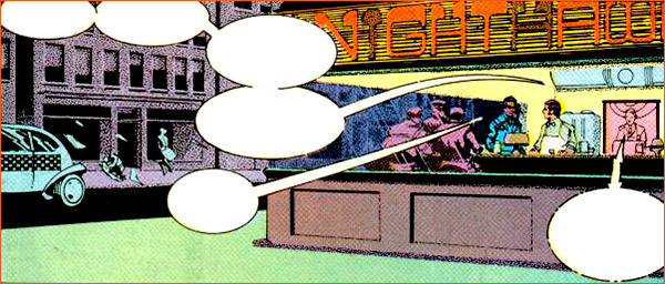 Nighthawks selon Howard Chaykin.