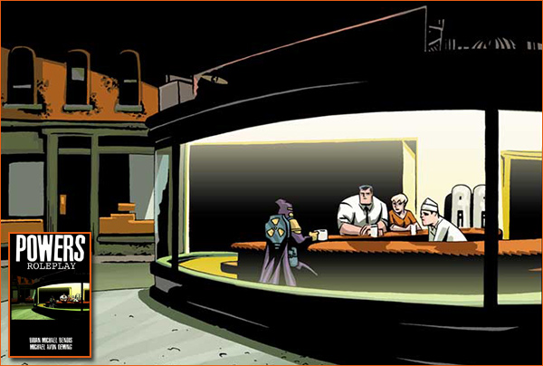 Nighthawks selon Michael Avon Oeming.