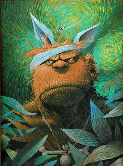 L 39 oreille troll e kicswila - Vincent van gogh autoportrait a l oreille coupee ...