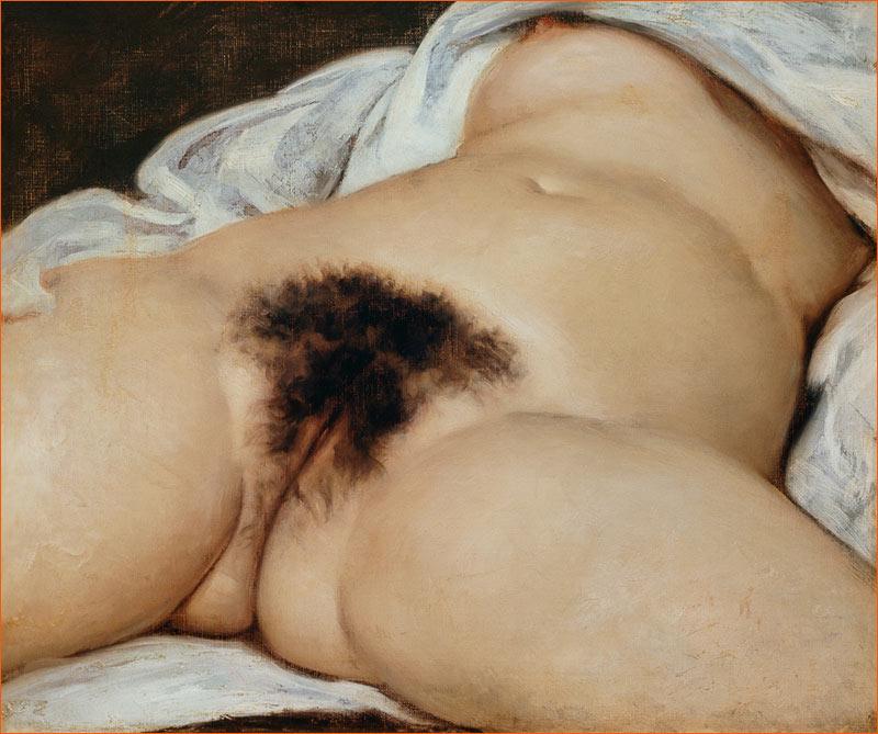 L'origine du monde de Gustave Courbet (1886).