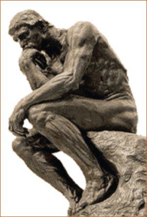 Le Penseur d'Auguste Rodin.