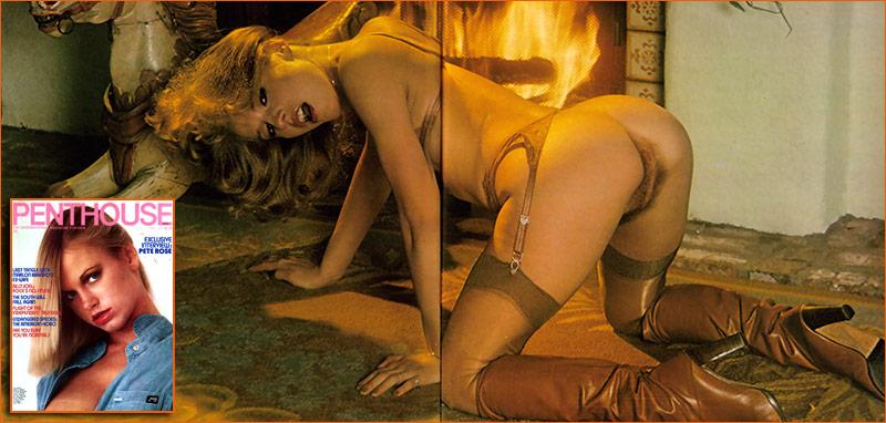 Natalia Farris par Earl Miller pour le magazine Penthouse de Mai 1979.