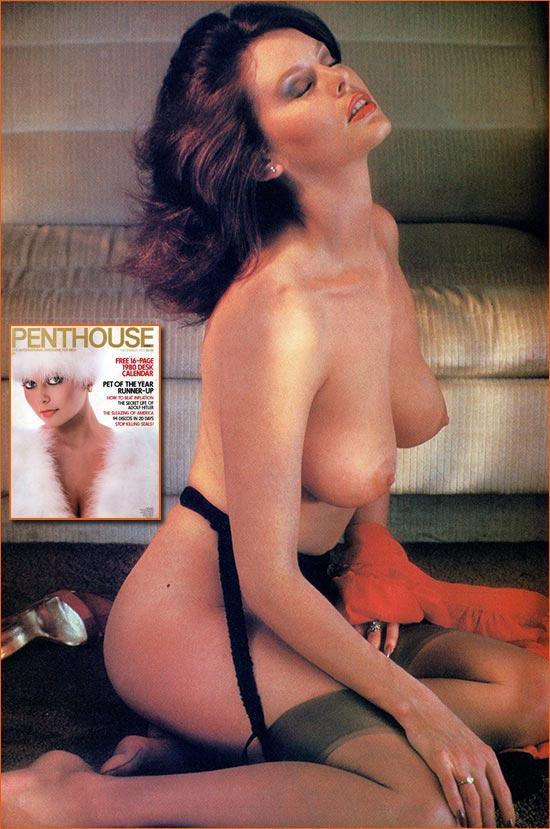 Photographie de Judi Gibbs par Stan Malinowski pour Penthouse.