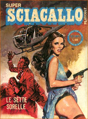 Super Sciacallo - Tome 6 - Le sette sorelle (Edifumetto).