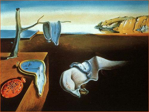 Persistance de la mémoire de Salvador Dalí.