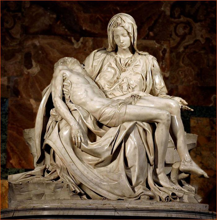 La Pietà de Michel-Ange.