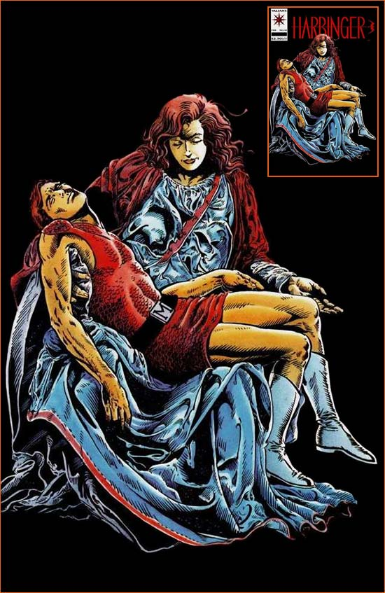 La Pietà selon Howard Simpson et Gonzalo Mayo.