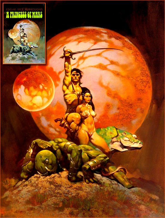 A princess of Mars de Frank Frazetta.