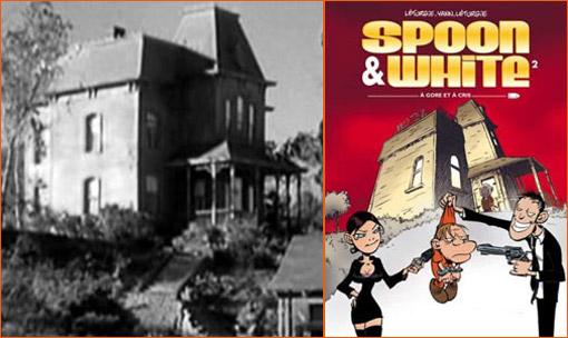 Le motel Bates de Psychose selon Léturgie.