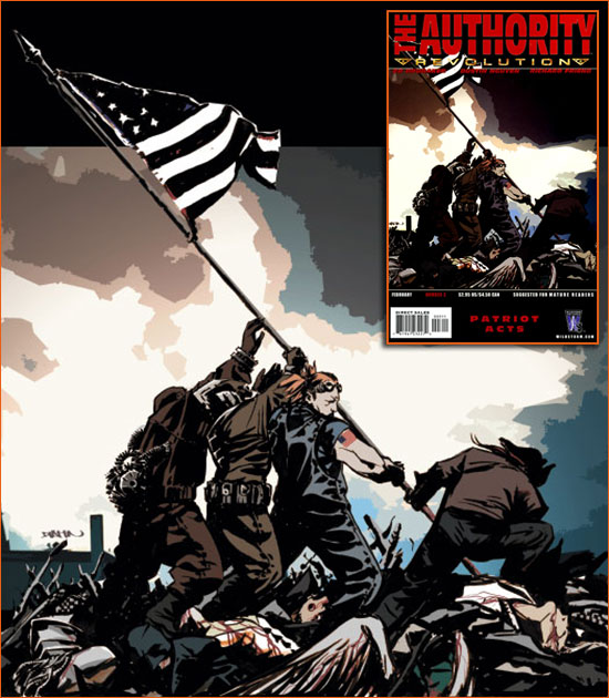 Raising the flag on Iwo Jima selon Dustin Nguyen.