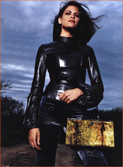 Frankie Rayder dans Vogue.