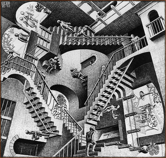Relativity de Escher.