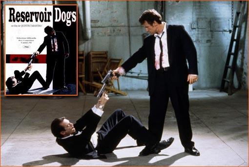 Reservoir Dogs de Quentin Tarantino.