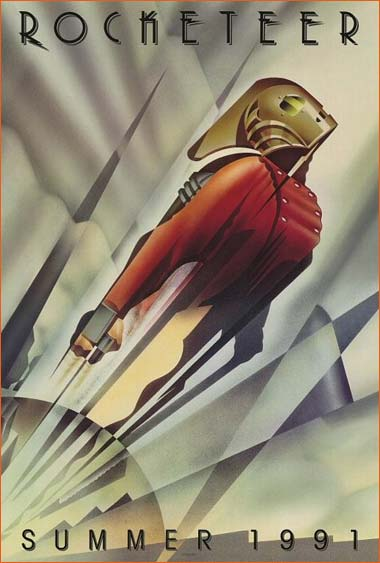 Les aventures de Rocketeer de Joe Johnston.