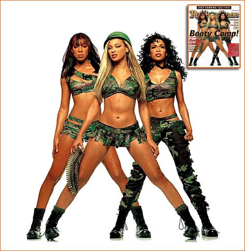 Destiny's Child pour RollingStone.