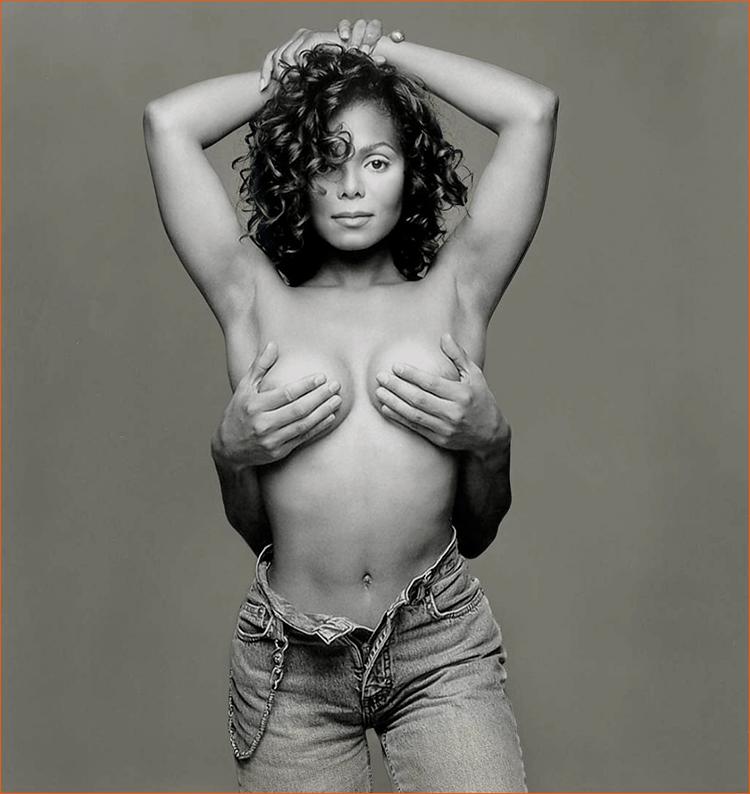 Janet Jackson par Patrick Demarchelier pour RollingStone.