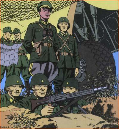 Field Marshal Rommel Inspecting Sea Wall selon Edgar Pierre Jacob.