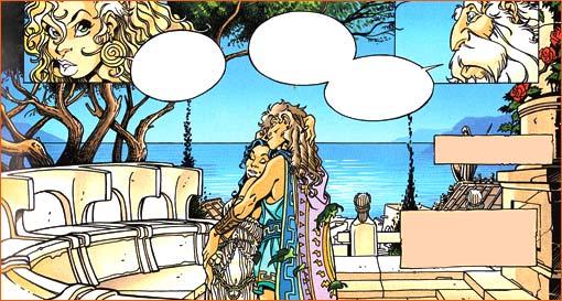 Sapho et Alcaeus selon Didier Crisse.
