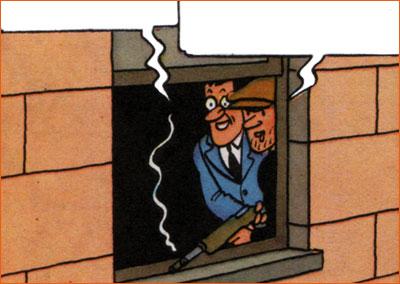 Scarface selon Hergé.