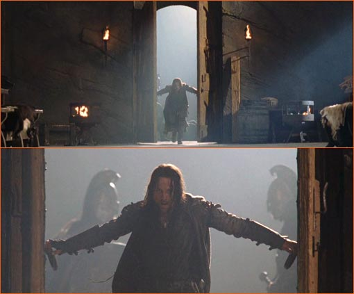 Le Seigneur des Anneaux - Les deux Tours de Peter Jackson.