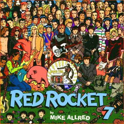 Sgt. Pepper's Lonely Hearts Club Band selon Mike Allred.