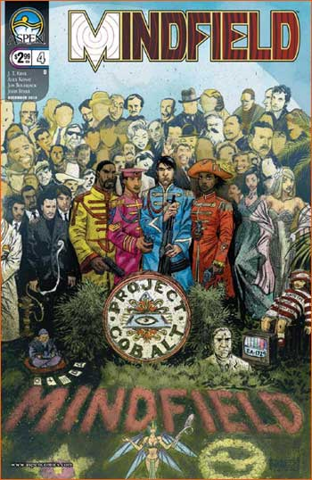 Sgt. Pepper's Lonely Hearts Club Band selon Phil Noto.