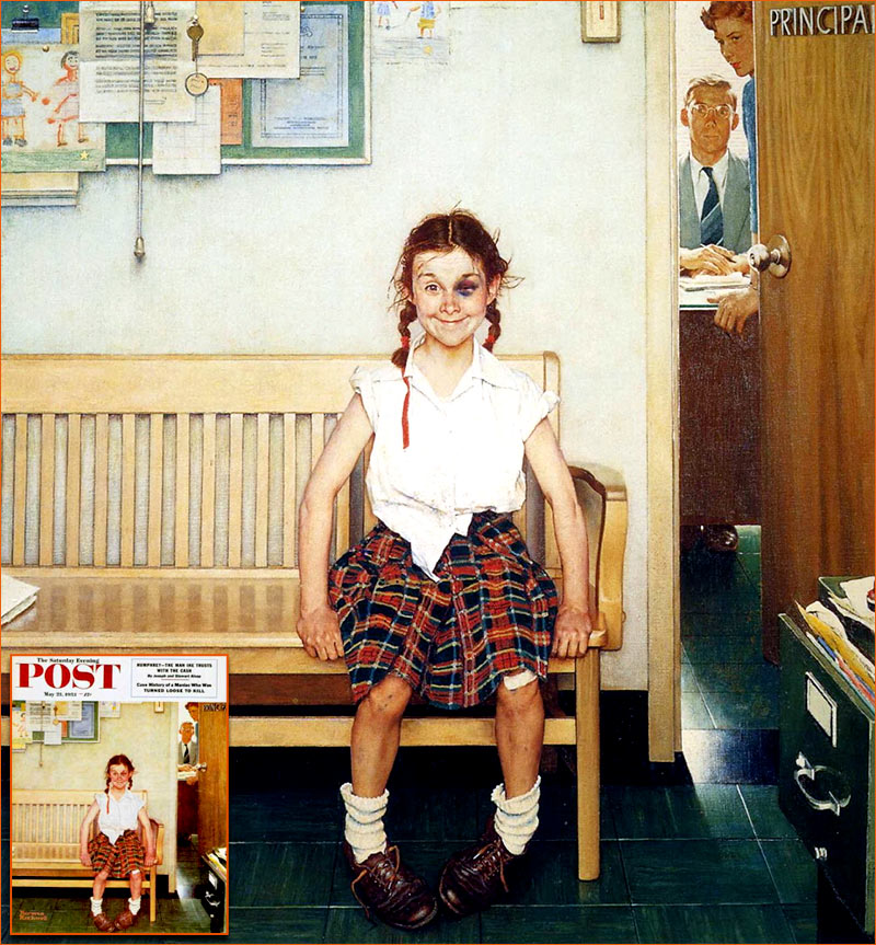 The Shiner de Norman Rockwell.