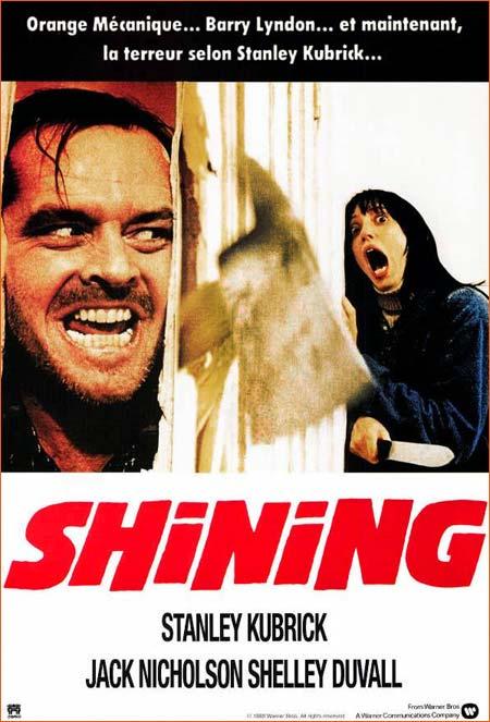 Shining de Stanley Kubrick.