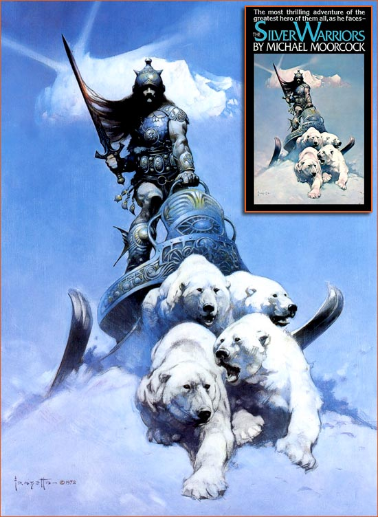 The silver warrior de Frank Frazetta.