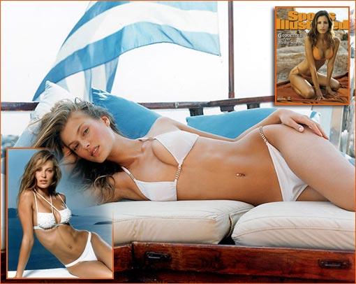 Aurélie Claudel par Robert Erdmann pour Sports Illustrated Swimsuit Issue 2001.