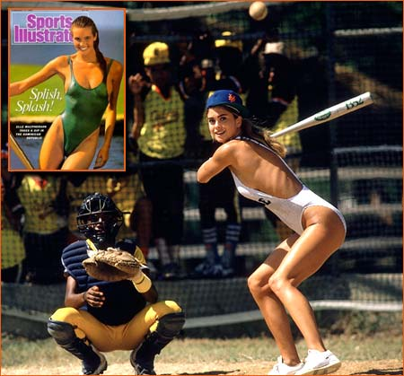Kathy Ireland par John G. Zimmerman pour Sports Illustrated Swimsuit Issue 1987.